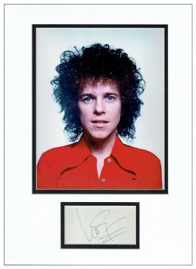 Leo Sayer Autograph Signed Display
